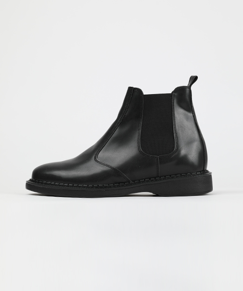 Black Leather Chelsea Boots(1col) 블랙 레더 첼시 부츠