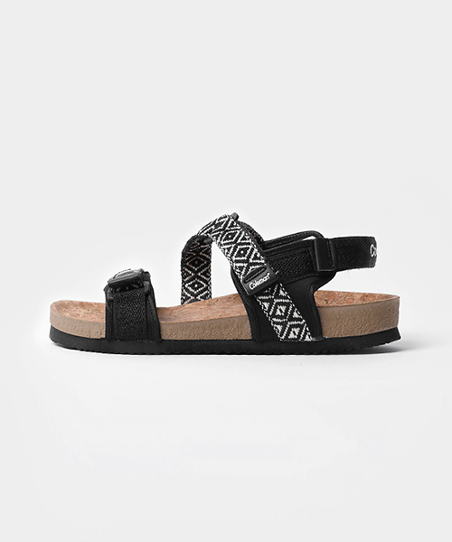 Liberty Pattern Velcro Sandle(3col) 리버티 패턴 벨크로 샌들